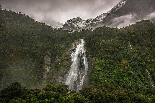 Lady Bowen Falls by Racheal Christian