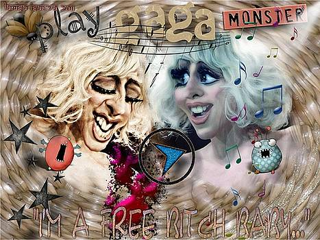 Larisa Isaeva - Lady Gaga Monster