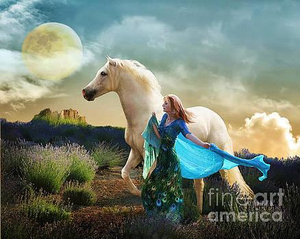 Lady in Blue by Melinda Hughes-Berland