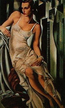 Lady in Lace by Tamara di Lempicka