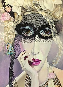 Lady in Mask by Tatyana Binovska