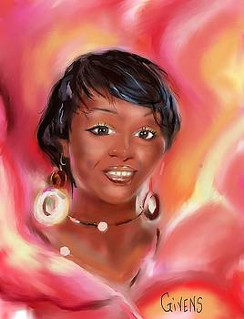 Lady In Pink by Mark Givens