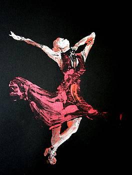 Lady in Red  by Ana Bikic