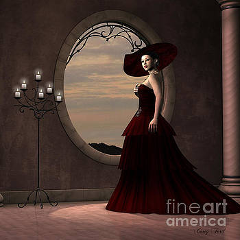 Corey Ford - Lady in Red Dress