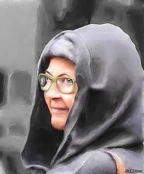 Lady in the Grey Hood by Ken Morris