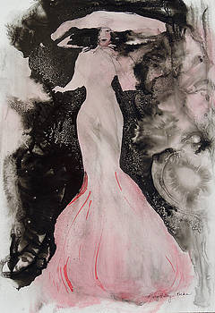 Lady in the Pink Hat by Mary Haley-Rocks