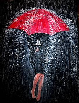 Lady in the Rain by Pauline McCarville