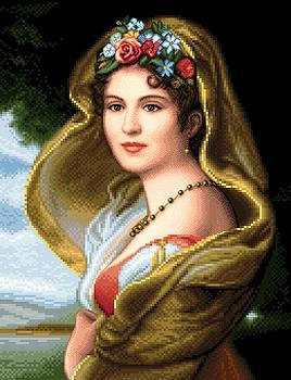 Lady in veil by Stoyanka Ivanova