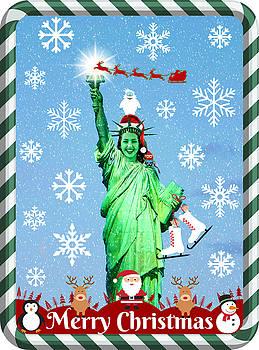 Lady Liberty's Got The Christmas Spirit III by Aurelio Zucco