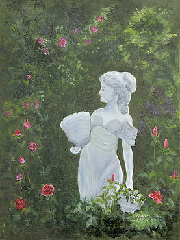 Lady of the Garden by Shirley Lawing