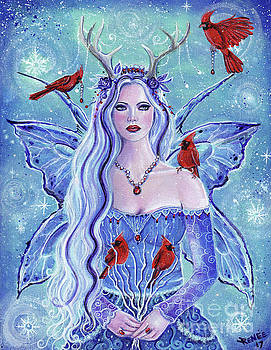 Lady of the winter by Renee Lavoie