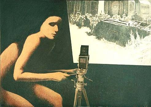 Lady Photographer by James LeGros