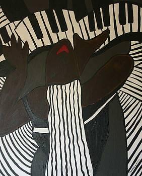 Lady Piano by Garnett Thompkins