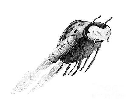 Lady Rocket Bug by Michael Ciccotello