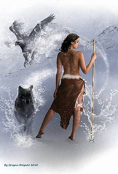 Lady Shaman by Crispin  Delgado
