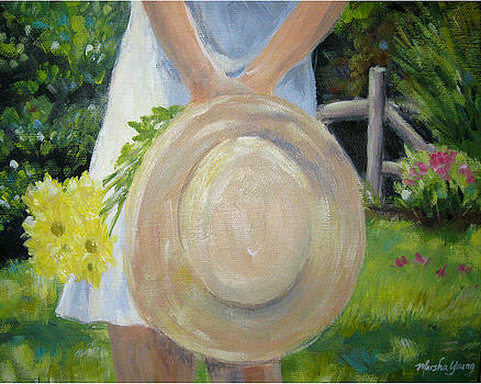 Lady with a Hat by Marsha Young