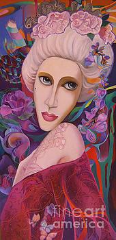 Lady with Mushka by Tatyana Binovska