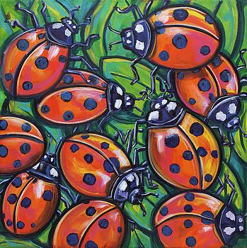 Ladybugs by Ilene Richard