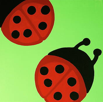 Ladybugs by Rebecca Mott