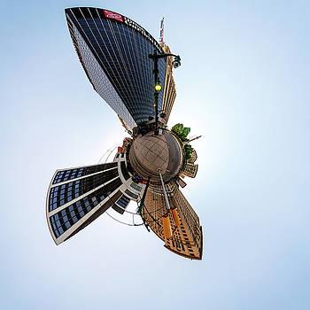 Chris Bordeleau - Lafayette Square Buffalo - Tiny Planet