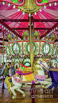 Lafreniere Carousel - Nola  by Kathleen K Parker