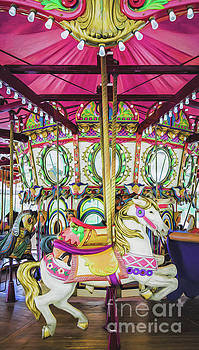 Lafreniere Carousel -Nola- Painted by Kathleen K Parker