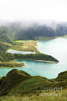 Lagoa do Fogo Azores by Jan Brons