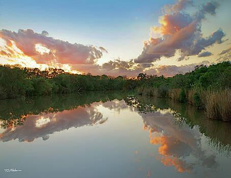 Lagoon at Sunrise by Tim Fitzharris