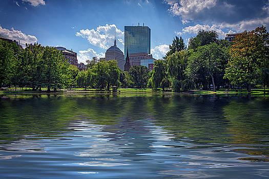 Lagoon in Boston Public Garden by Rick Berk