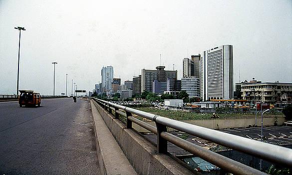 Marina Skyline from Eko Bridge by Muyiwa OSIFUYE