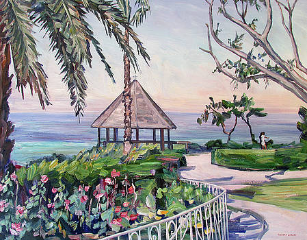 Laguna Beach Gazebo by Robert Gerdes