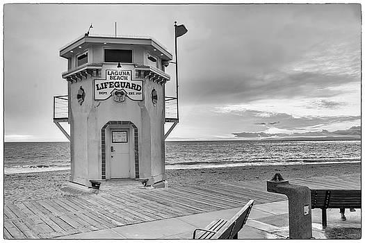 Cliff Wassmann - Laguna Beach Lifeguard Tower