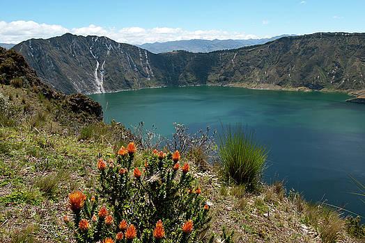 Laguna de Quilotoa by Cascade Colors