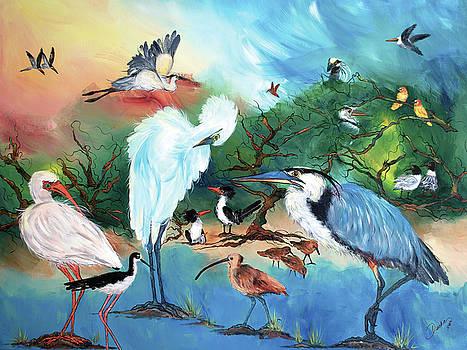Laguna Madre by Cherie Nowlin McBride - Duckie