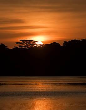 Laguna Victoria Sunset by Ron Dubin