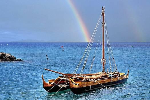 Lahaina Harbor by DJ Florek