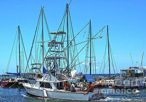 Lahaina Yacht Club by Ronald Williamson