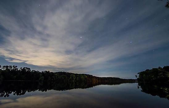 Lake At Night by Todd Aaron
