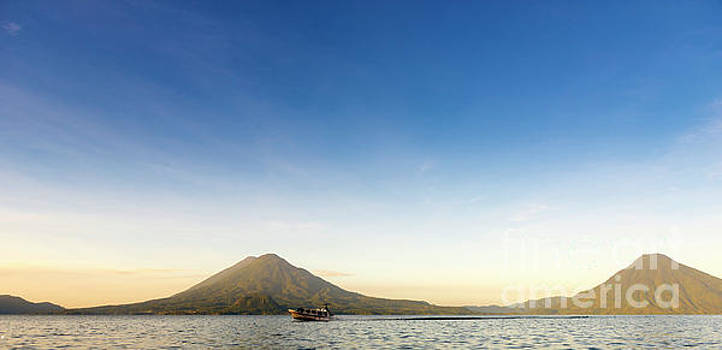 Tim Hester - Lake Atitlan Sunrise Panorama