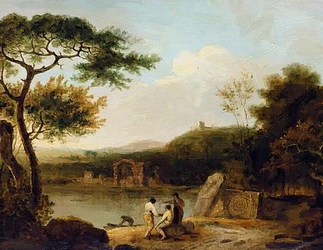 Wilson Richard - Lake Avernus I 1765