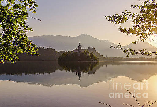 Lake Bled at Sunrise by Travel and Destinations - By Mike Clegg