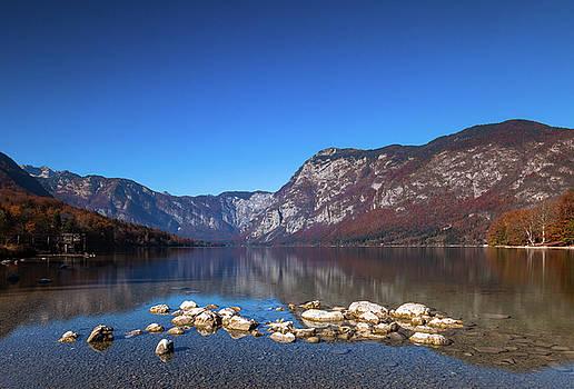 Lake Bohinj by Davor Zerjav