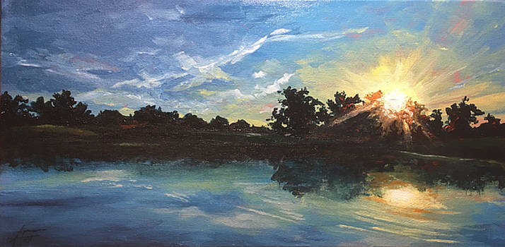 Lake Bridgeland by Allison Fox
