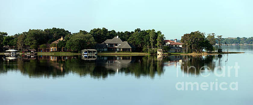 Lake Butler Reflections by John Gaffen