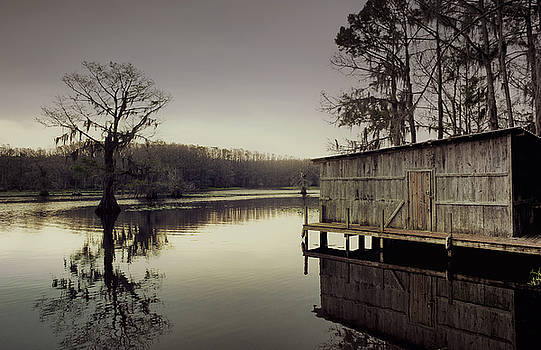 Lake Caddo Gloom by Justin Carrasquillo