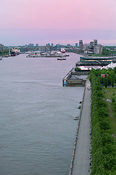 Lake Champlain Seaport in Montreal by Michael Gallitelli