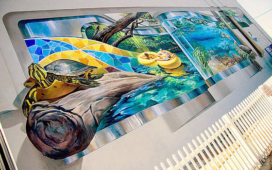 Lake City Mural by Keith  Goodson
