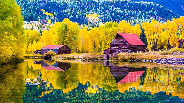Lake City Reflections by Jim McCain