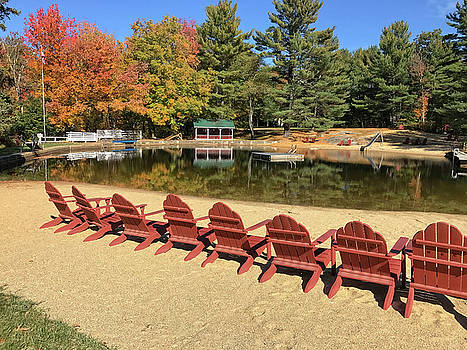 Lake Club in Fall by Donna Doherty