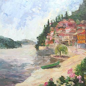 Lake Como Vista by Albert Fendig